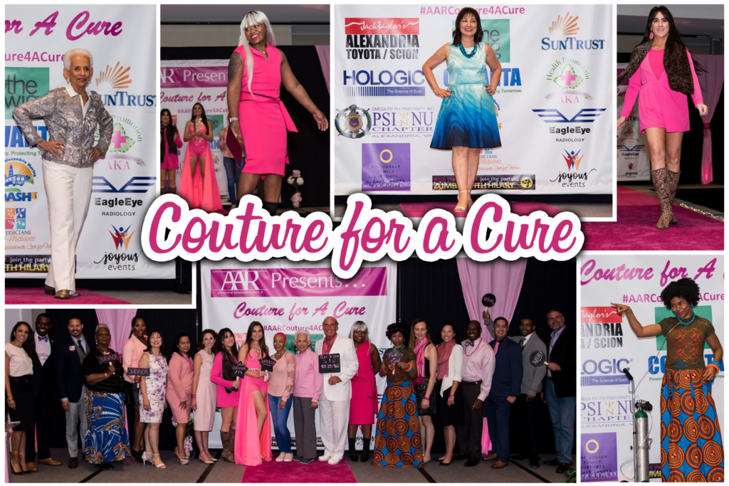 Couture for a Cause event collage