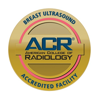 American College of Radiology Accreditation Logo for Breast Ultrasound