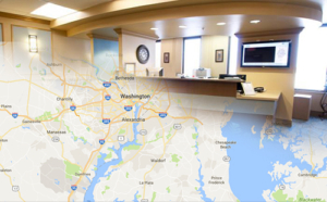 Collage of Alexandria Radiologists locations in northern Virginia